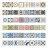 歐風藝術花磚貼 以色列牆面裝飾貼紙 壁貼牆貼 6款可選【TA201】《約翰家庭百貨 好窩生活節 1