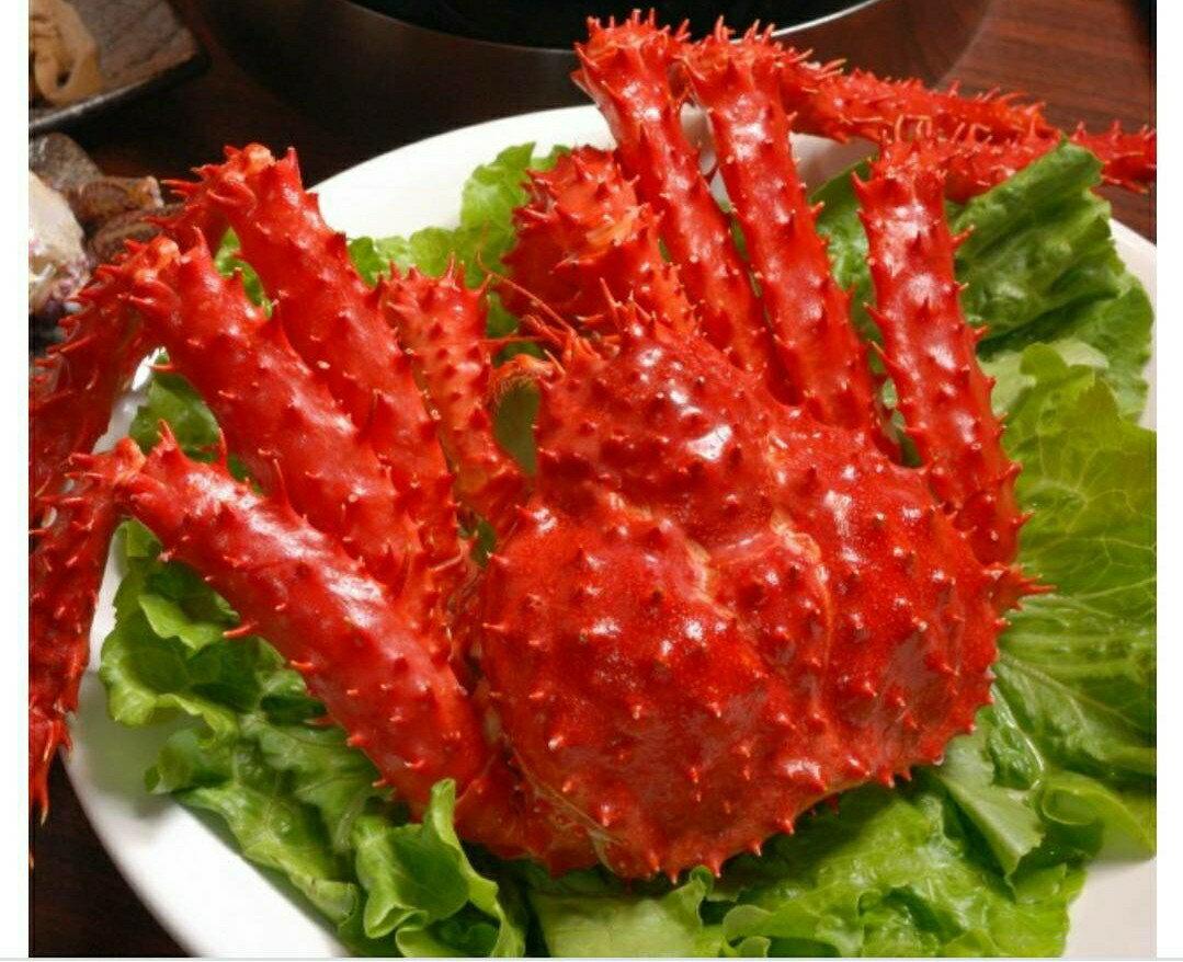 【寶鯕水產】吃的豪氣-熟凍帝王蟹 (1500克±5%)