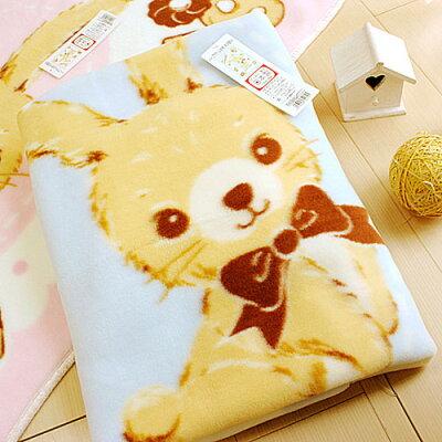 ※Tokyo 西川 餅乾兔童毯(藍)