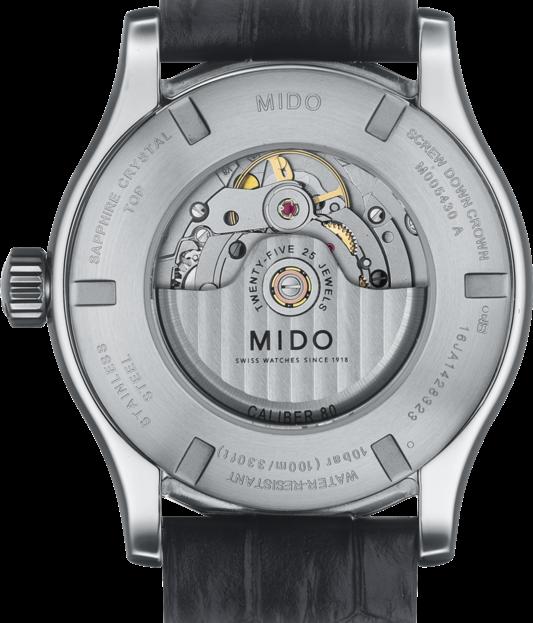 MIDO 美度 Multifort 先鋒系列經典機械手錶 M0054301603180 銀 咖啡 42mm 1