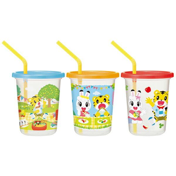 日本製 SKATER 兒童吸管水杯組(巧虎派對) 320ml 吸管杯/學習杯*夏日微風*