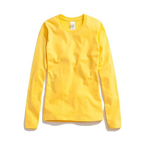 【GILDAN】亞規柔棉修身長袖T恤76400L 0