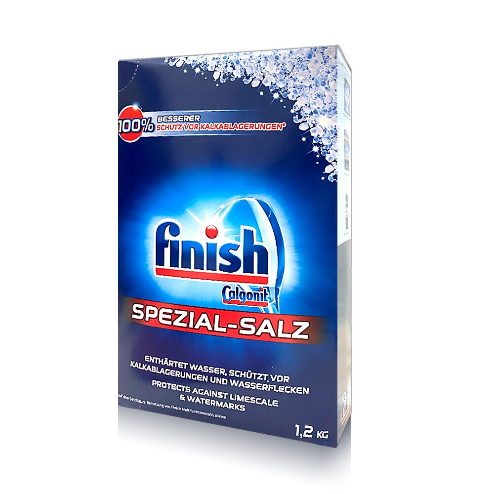 【Finish】進口洗碗機專用軟化鹽1.2kg