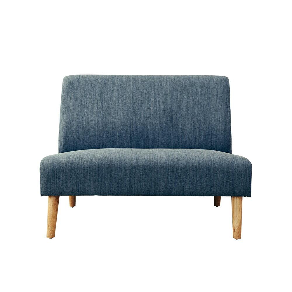 布沙發/雙人沙發 Stitch 雙人無扶手布質沙發 三色可選 dayneeds