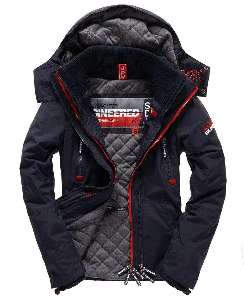 Superdry Arctic三層防風保暖休閒夾克