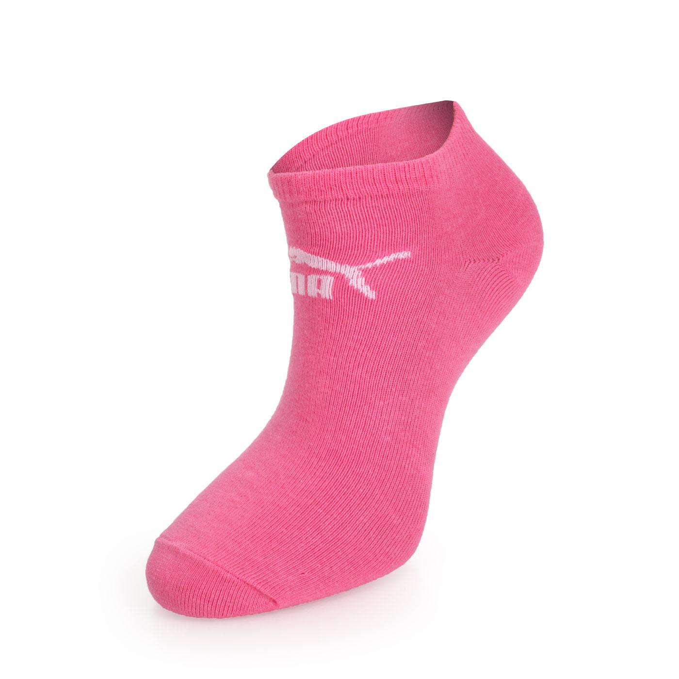 PUMA Logo 女糖果色腳踝襪^(慢跑 路跑 襪子 短襪 一雙入~98410520~≡