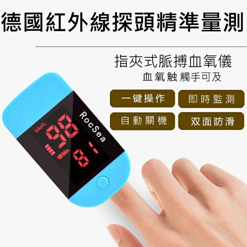 【現貨 免運費】手指夾式脈搏血氧機, 多國認證, 量測速度靈敏