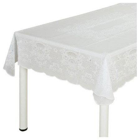 防水加工蕾絲桌布 NT-100 120X150 NITORI宜得利家居