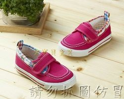 ☆╮愛寶貝童裝╭☆ Kids英倫 學院 時尚 帆布鞋 童鞋 休閒鞋 布鞋 - 台灣製造 新品 現貨