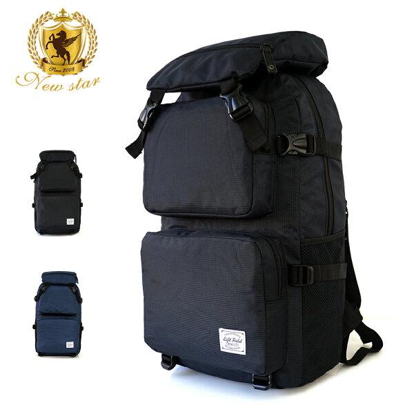 NEW STAR:運動時尚防水格紋大容量口袋後背包電腦包包NEWSTARBK245