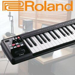 【非凡樂器】Roland A-49 可攜式控制鍵盤 / 公司貨保固 / 黑色