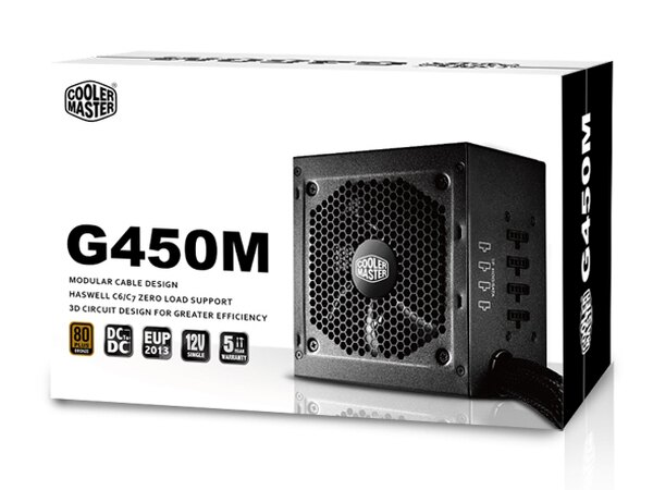 【迪特軍3C】COOLMASTERGM系列G450M電源供應器PC電源供應器POWER