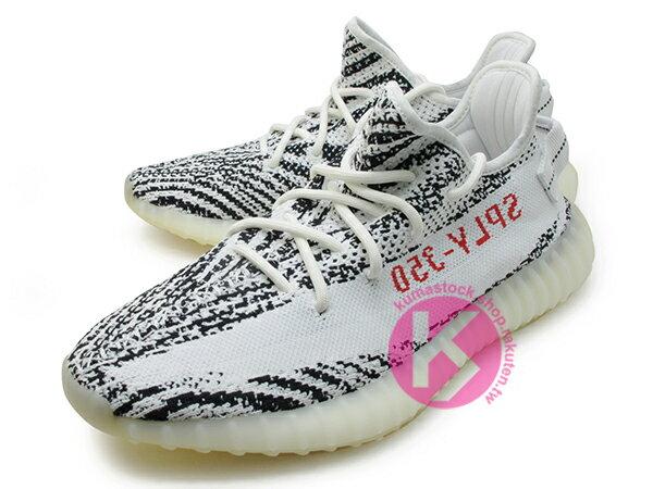 2017 版本 限量發售 嘻哈歌手 Kanye West 設計 adidas YEEZY BOOST 350 V2 ZEBRA SPLV-350 低筒 白黑 斑馬 紅字 PRIMEKNIT 飛織鞋面 (CP9654) ! 1