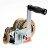 Heavy Duty Hand Winch 600 lbs Hand Crank Strap Gear Winch ATV Boat Trailer 0