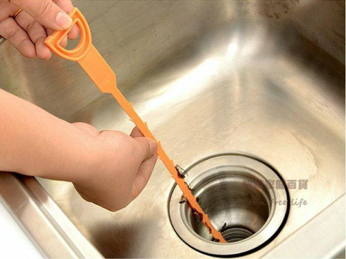 約翰家庭百貨》【CA250】家樂鉤 疏通管小工具 排水管清潔鉤