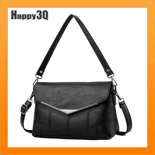 斜背包軟包單肩包大容量包包媽媽包百搭素面上班包手提包-多色【AAA4337】