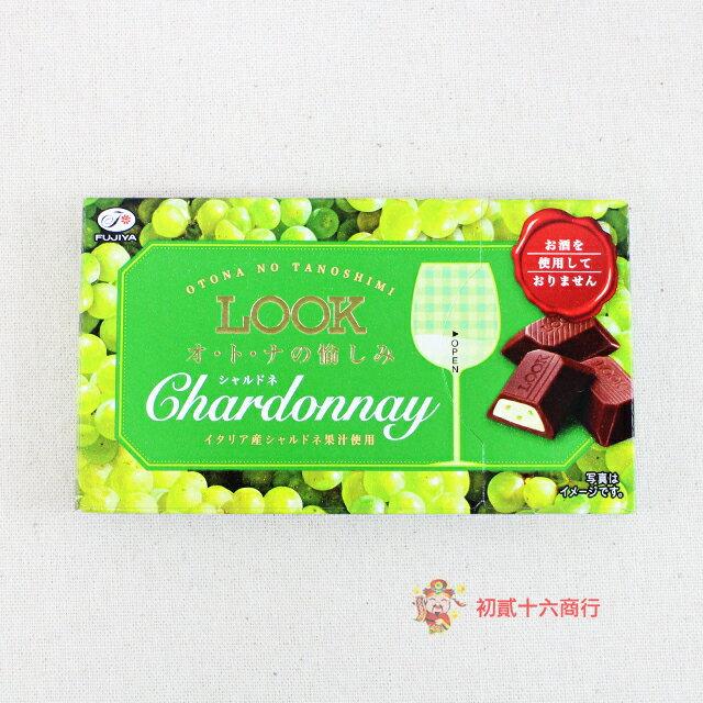 【0216零食會社】日本不二家 Look夏多內葡萄巧克力43g