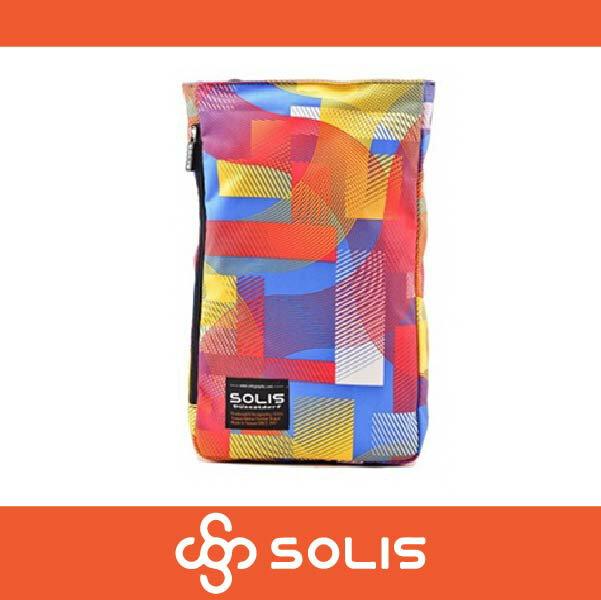 【買就送筆袋】SOLIS B09007 馬戲團系列多功能方型平板電腦背包 後背包 側背包 彩色 萬特戶外運動