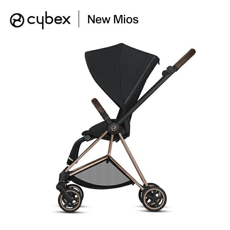 德國 Cybex New Mios 輕便型4輪嬰兒手推車(紅色)-3色車架【預購:車架(玫瑰金9月中) / 車座7月底到貨】 _好窩生活節 4