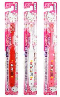 【晨光】日本製エビス株式會社6歲以上牙刷1入Kitty小丸子(033012)【現貨】