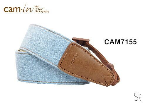 【Cam.in】潮流相機背帶 牛仔系列背帶 型號:CAM7155 單色牛仔系列