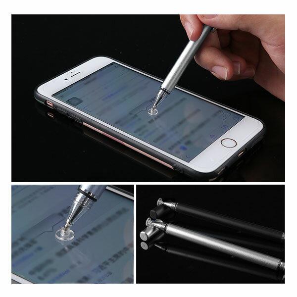 高精度電容觸控筆 筆夾式觸控棒 平板手機觸控手寫筆