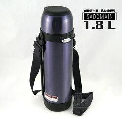 快樂屋♪ 仙德曼 大口徑雙層真空保溫壺 1.8L/1800cc LJ1800 /咖啡壺/保溫罐