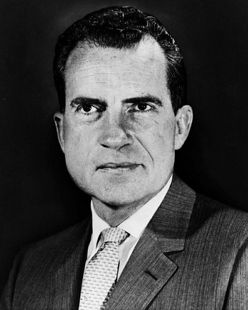 Who Was Richard Nixon Vice President: Posterazzi: Richard Nixon (1913-1994)N37Th President Of
