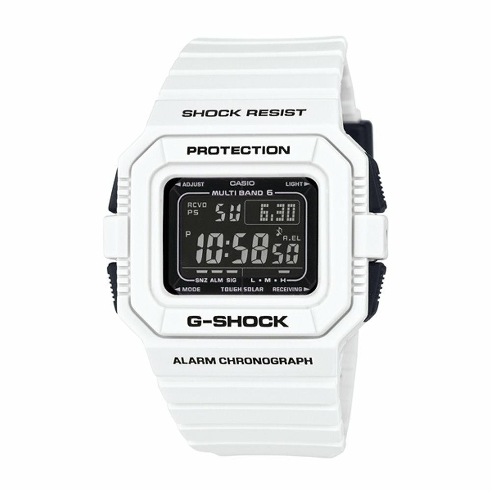 CASIO G-SHOCK/太陽能電波計時運動腕錶/GW-5510BW-7DF