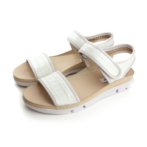 Clarks Tri Nova 涼鞋 白 女款 no742