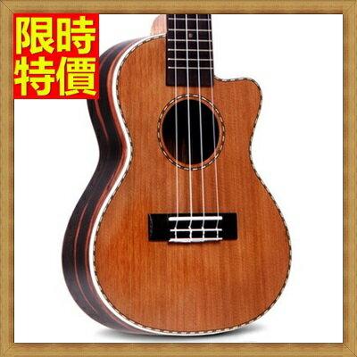 ★烏克麗麗ukulele-23吋紅松木單板夏威夷吉他四弦琴弦樂器2款69x38【獨家進口】【米蘭精品】