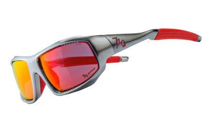 【【蘋果戶外】】720armourB370-5RockAsia雷電銀灰紅鍍膜PC防爆飛磁換片自行車眼鏡風鏡偏光防爆眼鏡運動太陽眼鏡