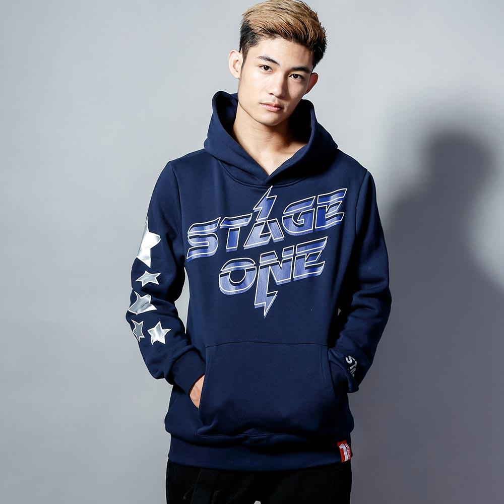 STAGEONE ALL STAR HOODIE 黑色 / 丈青色 兩色 1