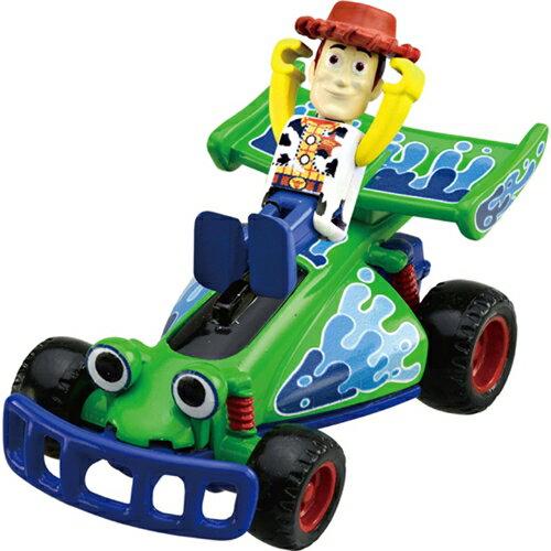 【真愛日本】15122100005TS-伍迪&遙控車  迪士尼 玩具總動員 TOY   小車  擺飾  收藏  交通玩具