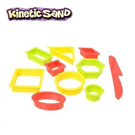 瑞典【KineticSand魔法動力沙】動力沙-多元形狀模具