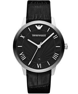 EMPORIO ARMANI/AR1611品味生活時尚腕錶/黑面41mm