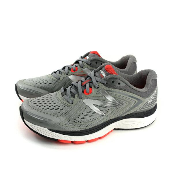 NEWBALANCE860v8跑鞋運動鞋灰色男鞋M860GR8-4Eno442