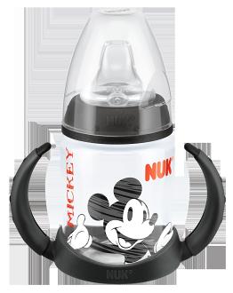 『121婦嬰用品館』NUK 米奇 寬口徑PP兩用學飲杯 150ml (附矽膠軟嘴)