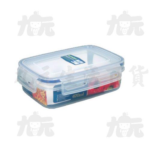 【九元生活百貨】聯府KI-R670天廚長型保鮮盒KIR670