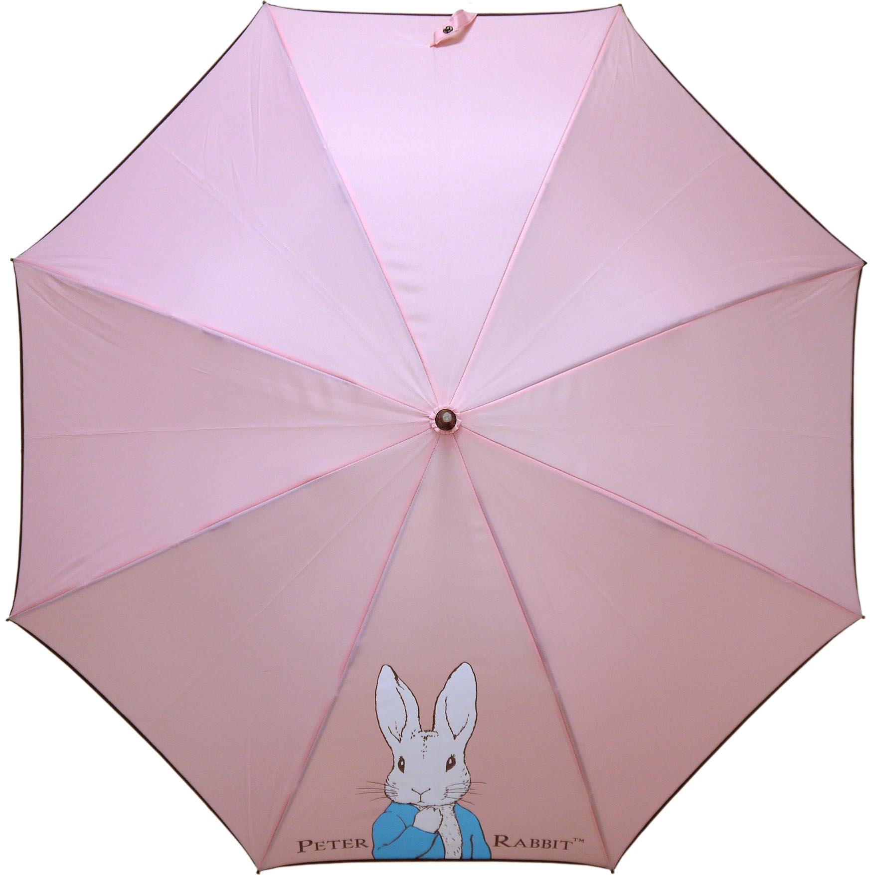《Annie's Friends》Peter Rabbit 比得兔防曬直傘【典雅粉半身兔】