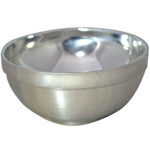 益壽 雙層隔熱碗(AL45801砂光碗) 11.5cm