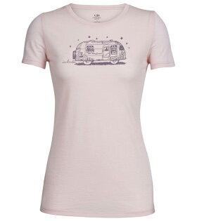【Icebreaker紐西蘭】TECHLITE輕量透氣舒適美麗諾羊毛排汗衣女款/短袖T恤/IB103741