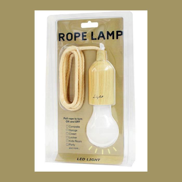 淺褐色 復古 LED仿燈泡 吊繩小夜燈 吊燈 緊急照明燈 日本帶回 同歩流行
