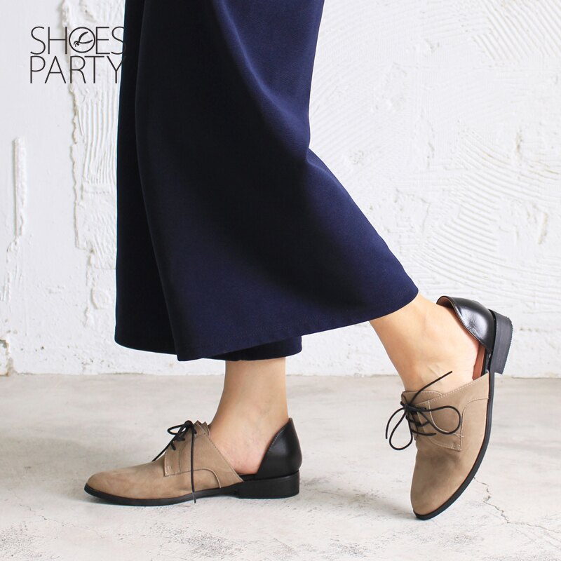 現貨【C2-17813L】簍空真皮德比鞋_Shoes Party 3