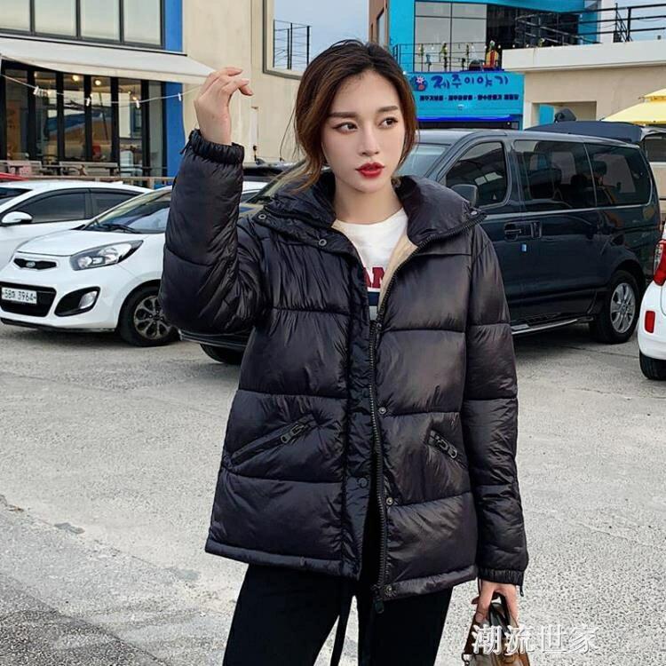 2020新款新款羽絨棉服女外套棉衣韓版寬鬆短款特價清倉棉襖冬裝潮