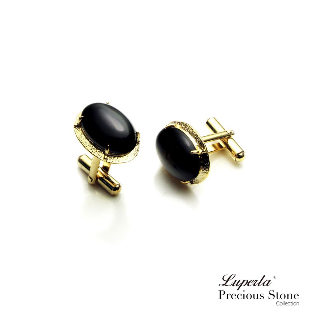 大東山珠寶 黑色帥氣 仕紳系列 黑瑪瑙  西裝領徽 袖扣 4