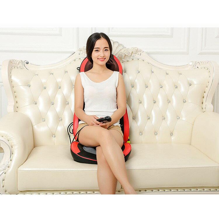 全自動小型電動按摩椅家用全身按摩墊腰部背部頸椎按摩器老人椅子 4