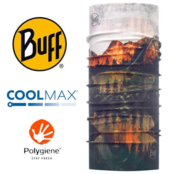 【Buff西班牙】魔術頭巾系列COOLMAX抗UV頭巾-暮光湖景/BF117020