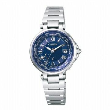 CITIZEN XC/限量款天然鑽石Duratect電波時計光動能錶/EC1010-81L