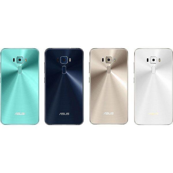 AsusZenfone3ZE520KL3G32G智慧型手機2選1色(色號:藍寶黑閃耀金)加贈黑人專業護齦抗敏感牙膏120g